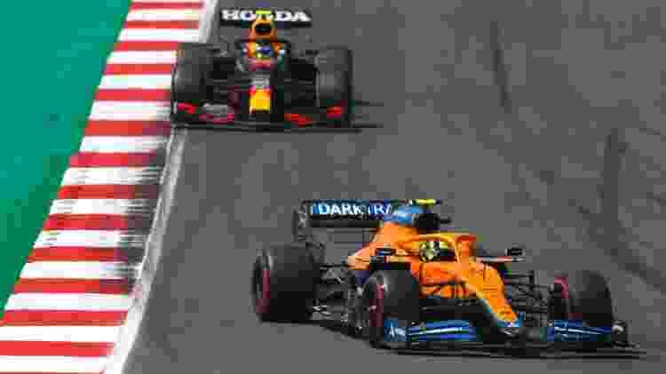 norris perez - Zak Mauger/McLaren - Zak Mauger/McLaren