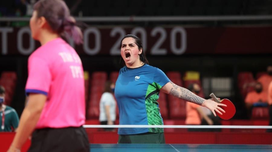 Bruna Alexandre, do tênis de mesa das Paralimpíadas - Rogério Capela/CPB
