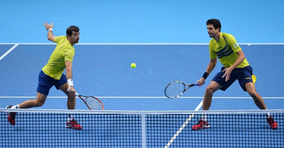 f3e298207f2 Marcelo melo e Ivan Dodig em ação no ATP Finals