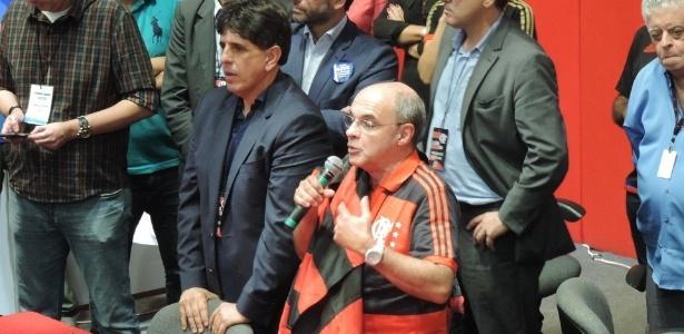 Maurício Gomes de Mattos e Eduardo Bandeira de Mello são desafetos no Flamengo - Pedro Ivo Almeida/UOL