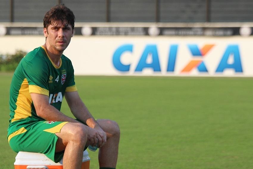 Meia Fellype Gabriel ainda não fez sua estreia com a camisa do Vasco
