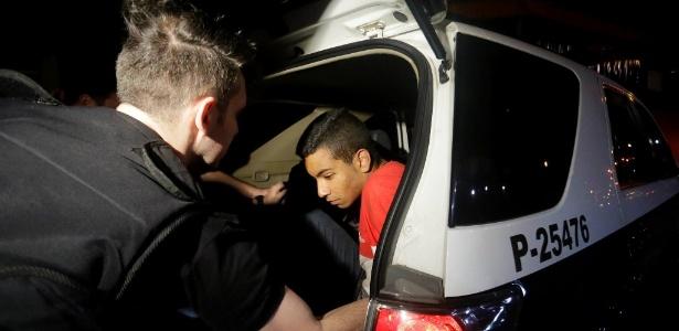 Victor Oliveira Amorim, detido acusado de sequestrar Aparecida Schunk, sogra de Bernie Ecclestone