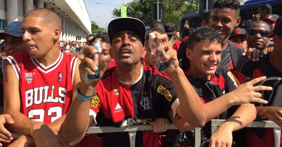 Cheirinho Flamengo torcedor