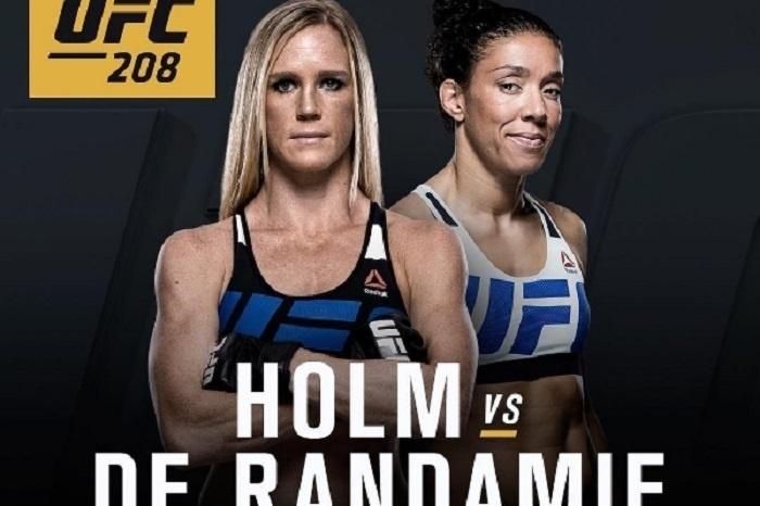 Holly Holm e Germaine de Randamie duelam em Nova York