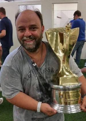 Fausto Bittar celebra título recente da Copa SP: de saída