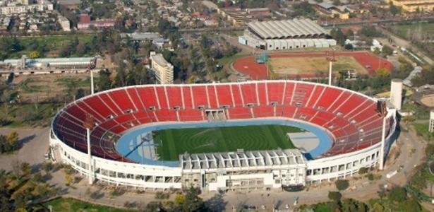 Estádio Nacional de Santiago receberá show a menos de dois meses de data da final - Santiago Turismo