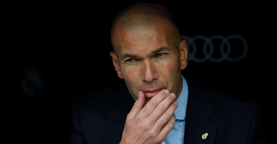 Zinedine Zidane, técnico do Real Madrid