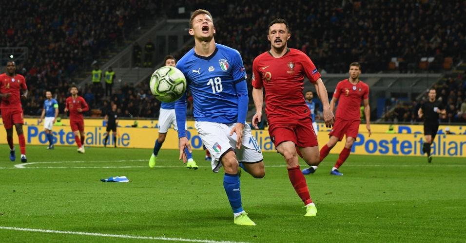 Itália Portugal Liga das Nações Nicolo Barella