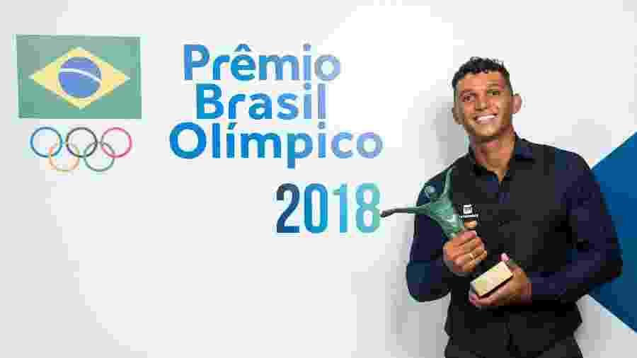 Isaquias Queiroz foi eleito o melhor atleta de 2018 - Alexandre Loureiro/COB