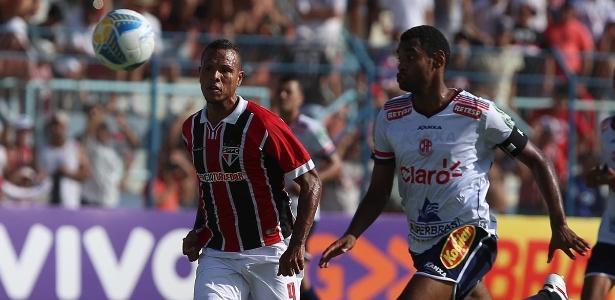 Luis Fabiano contra o Penapolense; SPFC não inicia Paulista com vitória desde então