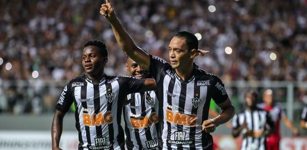 445b69fd7 Atlético-MG: Decisivos, Cazares e Ricardo Oliveira participaram de 52% dos  gols do Galo