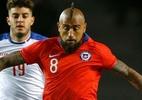 Atrás do tri, Chile pode quebrar tabu de 72 anos na Copa América - ANDRES PINA / Photosport Chile / AFP