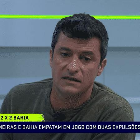 Sandro Meira Ricci, comentarista de arbitragem do Grupo Globo - Reprodução/SporTV