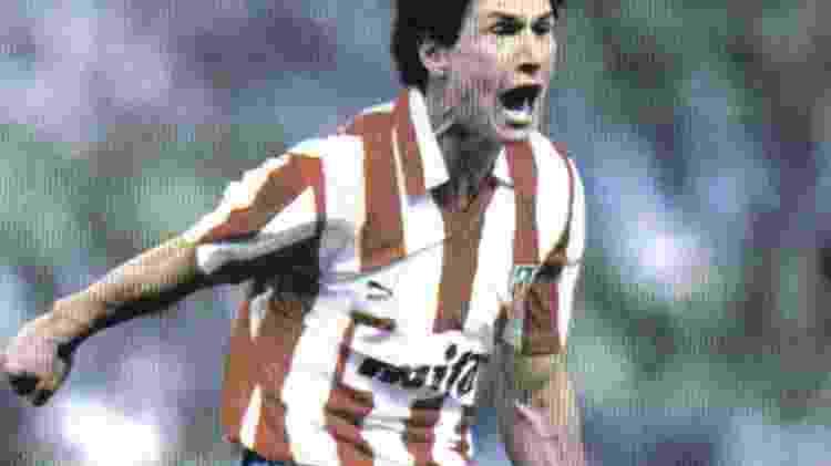 Baltazar, no Atlético de Madri - Getty Images - Getty Images