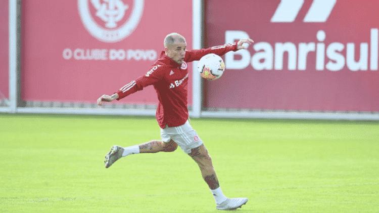 D'Alessandro durante retomada de treinamentos com bola no Internacional - Ricardo Duarte/Inter - Ricardo Duarte/Inter
