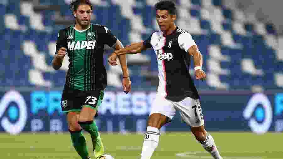 Apesar de resultado, time de Turim tem sete pontos de vantagem para a vice-líder Atalanta - Marco Luzzani/Getty Images