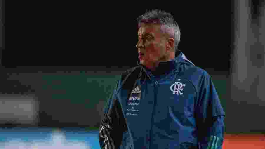 Domenec Torrent comanda o Flamengo   - Alexandre Vidal / Flamengo