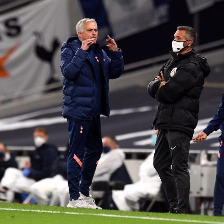 José Mourinho lamentou a demissão Frank Lampard - Neil Hall/PA Images via Getty Images