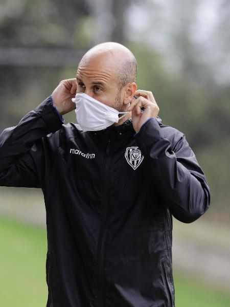Técnico Miguel Ángel Ramírez - Divulgação