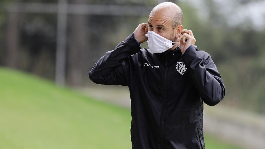 Miguel Ángel Ramírez, técnico do Independiente del Valle - Divulgação