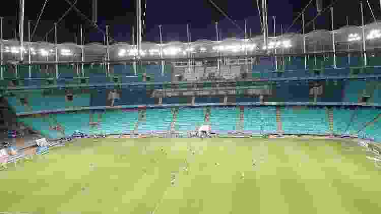 Arena Fonte Nova - Reprodução/@ECBahia - Reprodução/@ECBahia