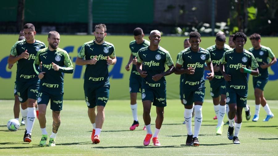 Elenco do Palmeiras testou negativo para a covid-19 - Fabio Menotti/Palmeiras