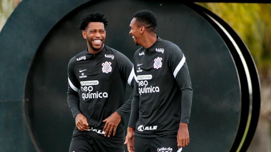 Gil e Jô viraram reservas no Corinthians com o técnico Vagner Mancini - Rodrigo Coca/ Ag. Corinthians