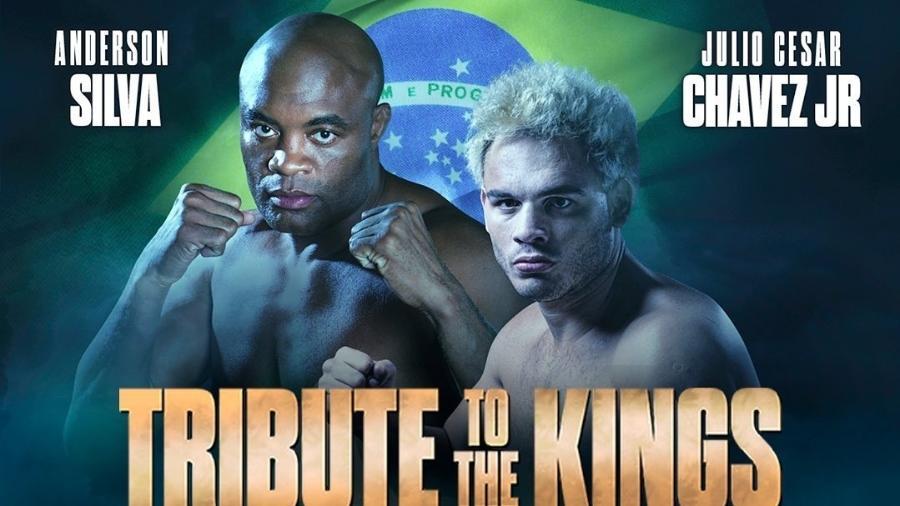 Anderson Silva fará luta de boxe contra o mexicano Julio Cesar Chavez Jr. - Instagram