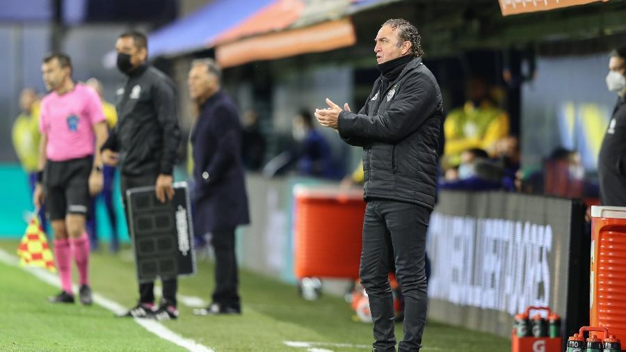 Cuca elogiou bastante a postura do adversário e vê vaga em aberto na Libertadores - Pedro Souza/Atlético