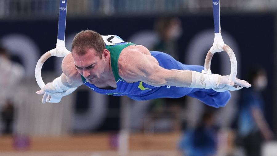 Arthur Zanetti disputa a qualificação nas Olimpíadas de Tóquio - Ricardo Bufolin/CBG