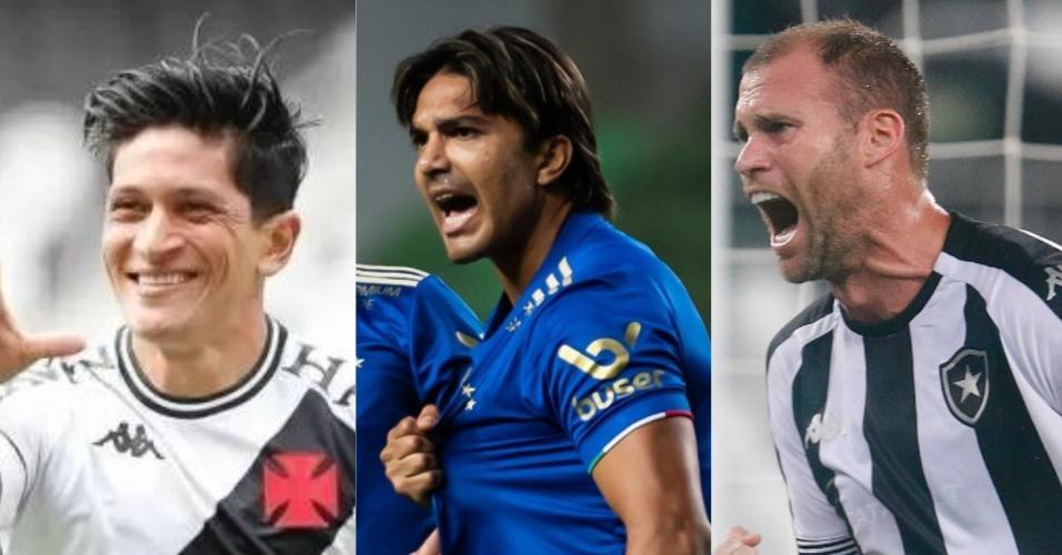 Cano, Marcelo Moreno e Joel Carli representam clubes de peso, mas que estão na Série B em 2021