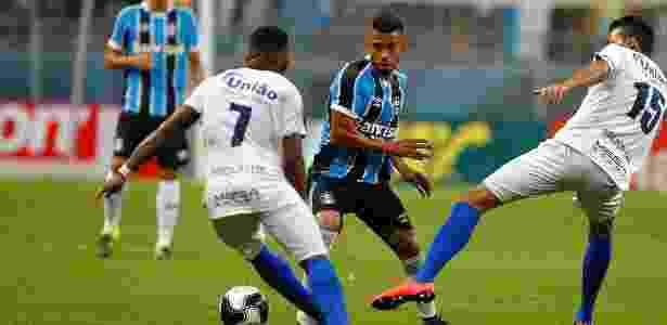 Grêmio perdeu 100% e São José-POA chegou ao quarto jogo sem levar gol no estadual - Lucas Uebel/Divulgação Grêmio