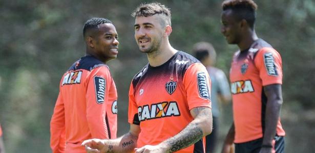 O atacante Lucas Pratto, do Atlético-MG, que voltou a ser convocado para a seleção argentina - Bruno Cantini/Atlético