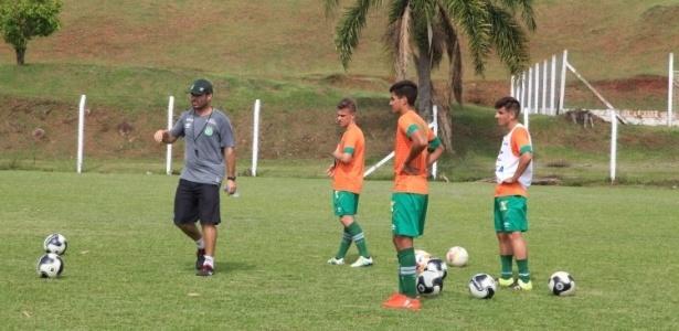 Treino da Chapecoense para a Copa São Paulo de Juniores