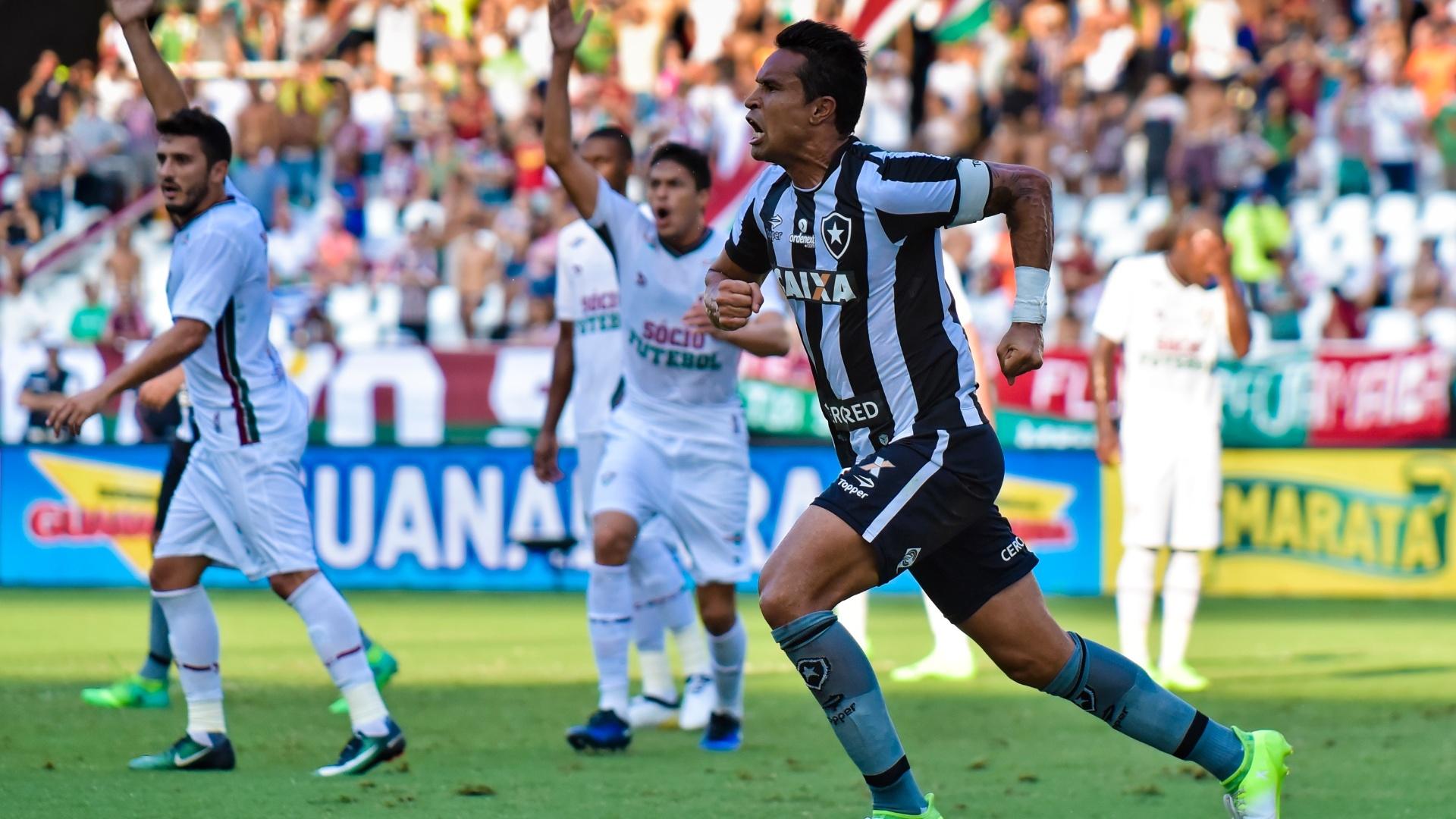 Dudu Cearense marca para o Botafogo contra o Fluminense