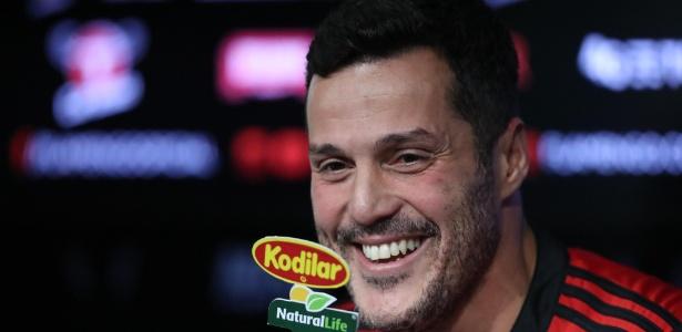 Julio César chegou ao Flamengo na última segunda-feira (29)