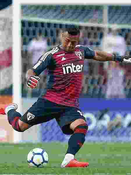 Sidão defendeu o São Paulo em 2018 - Marcello Zambrana/AGIF