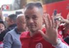 Em casa? Inter é recebido com festa em Santa Catarina para pegar a Chape - Ricardo Duarte/Inter