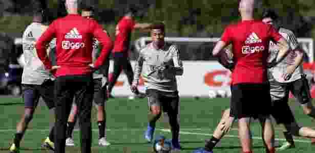 David Neres pode render muito dinheiro ao São Paulo, caso acerta a sua transferência para a China - Rubens Chiri / saopaulofc.net
