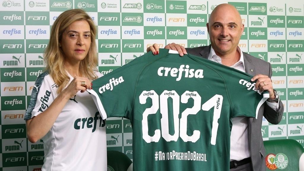 d0bd8cc8cb Palmeiras e Crefisa abrem detalhes de renovação e evitam provocar rivais -  Esporte - BOL