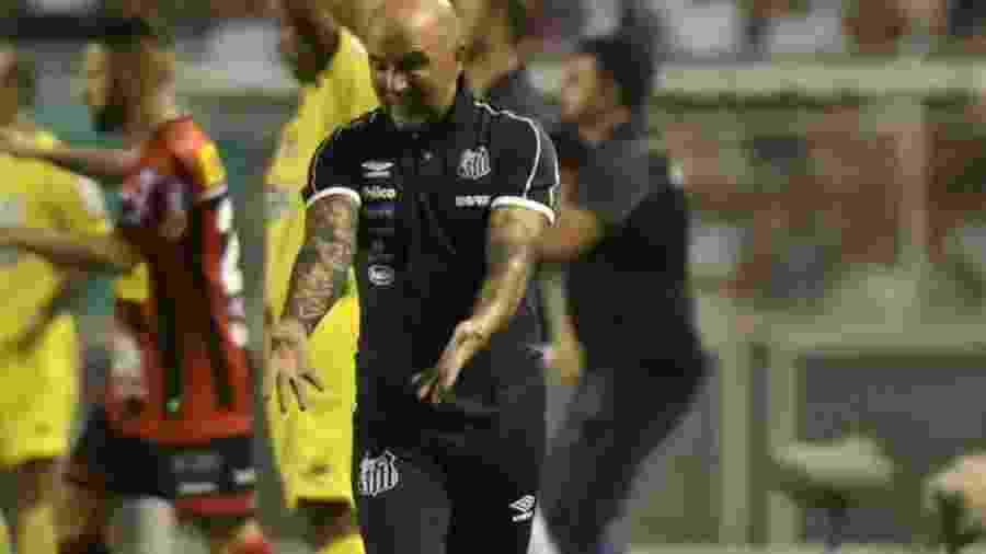 Sampaoli sofreu com atacantes do Ituano e agora quer contratá-los - Ivan Storti/SantosFC