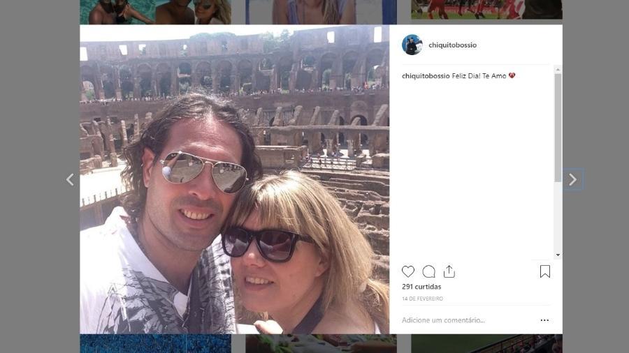 Ana Débora deu à luz a Isabella, que nasceu de sete meses; no Instagram, Carlos Bossio se despediu da mulher - @chiquitobossio/Instagram