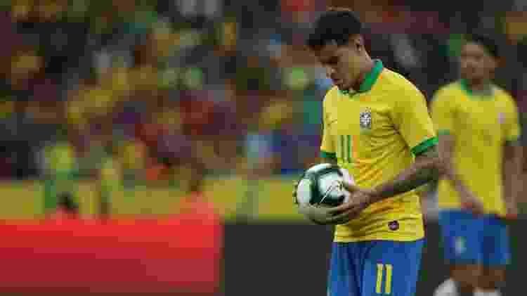 Coutinho contra Honduras - Guilherme Hahn/AGIF - Guilherme Hahn/AGIF