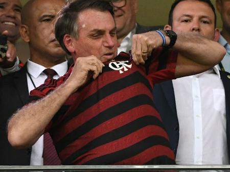 Bolsonaro e Moro comparecem a estádio em Brasília para jogo CSA x ...