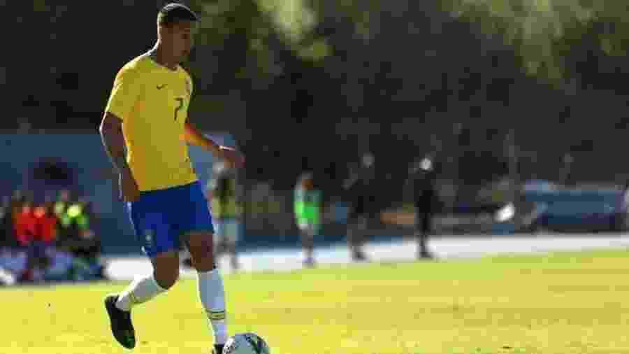 Aos 19 anos, Antony cresce em momentos decisivos e brilha em três finais seguidas - Fernando Torres / CBF