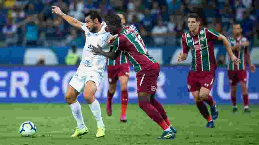 Fluminense é adversário direto do Cruzeiro e pegará o rival Atlético-MG neste sábado - Bruno Haddad/Cruzeiro