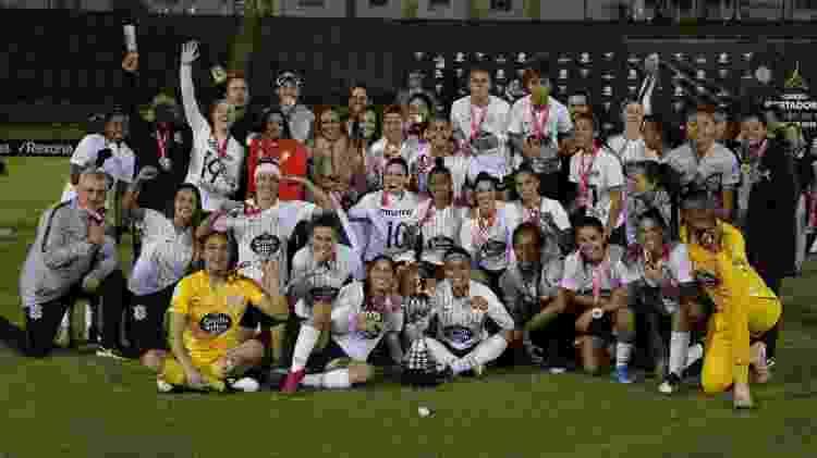 Corinthians foi campeão da Libertadores Feminina em 2019; time já havia conquistado o torneio em 2017 - Reprodução/Twitter/LibertadoresFEM