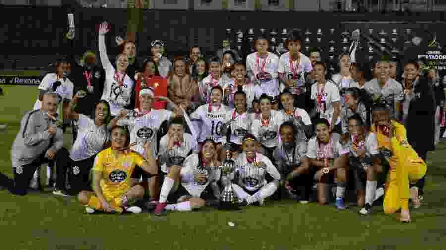 Time do Corinthians campeão da Libertadores Feminina 2019 - Reprodução/Twitter/LibertadoresFEM