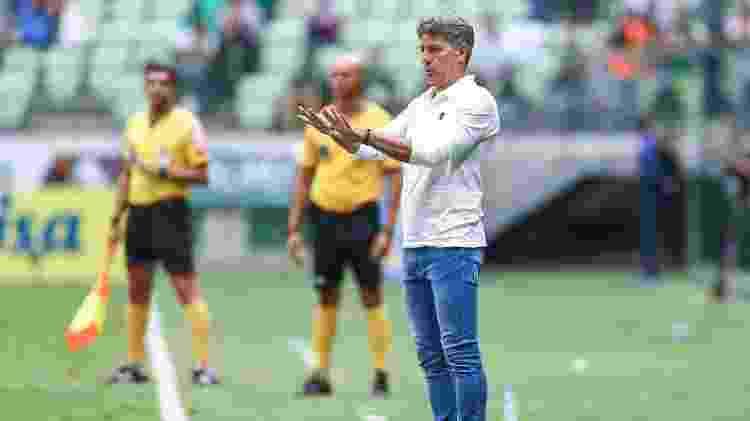 Renato Gaúcho é o treinador que está há mais tempo no comando de clube da Série A - Lucas Uebel/Grêmio FBPA