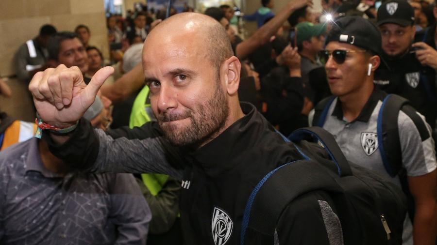Miguel Ángel Ramírez levou o Independiente del Valle ao título da Copa Sul-Americana 2019 - Cristina Vega Rhor/AFP